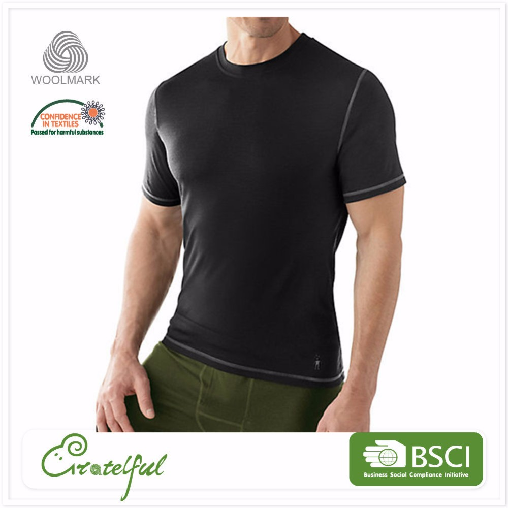 Wholesale breathable round collar running dry fit sport mens t shirts