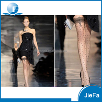 2016 new fashion women's 12D printing dots nature skin color sexy pantyhose