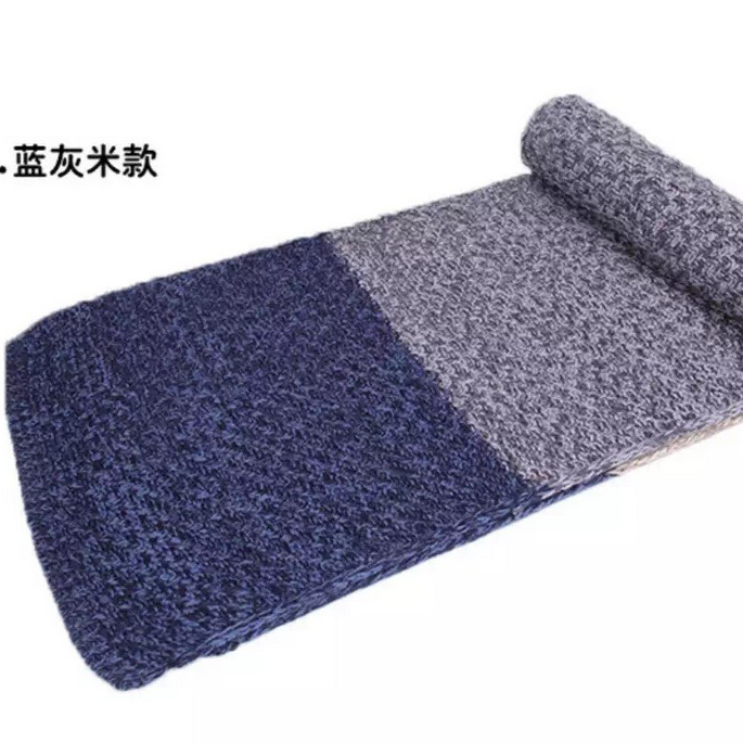knit scarf winter muffler ladies multiple colors knit pattern scarf