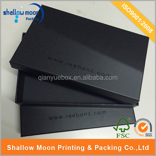 Wholesale big black cardboard box