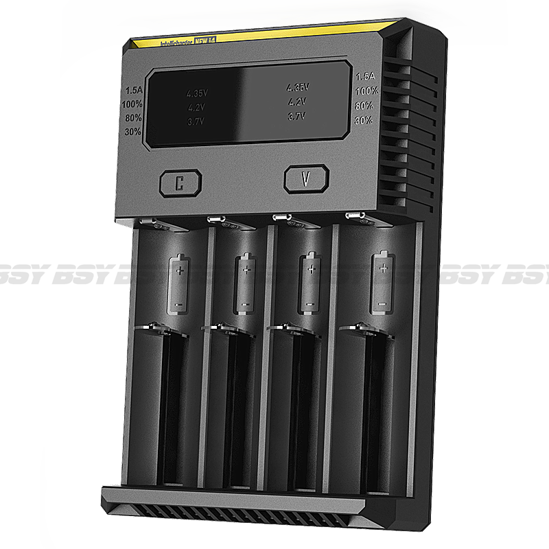 On sales!!! AC 100~240V 50/60Hz 0.25A(max) 10W DC 9~12V 1A Nitecore new I4 1.5v battery charger for programming