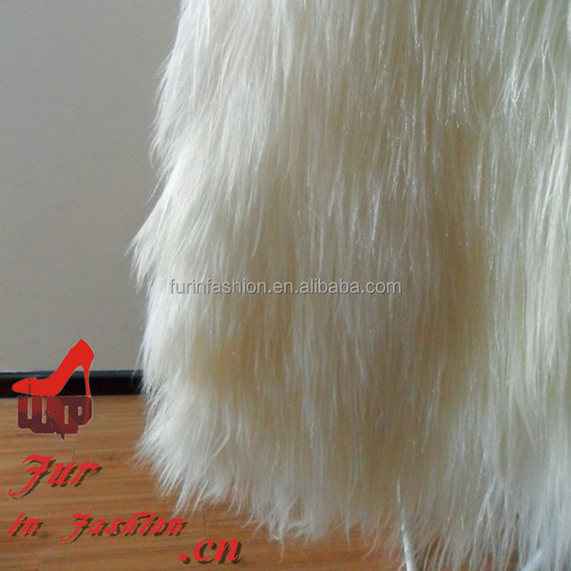 2017/2018 Wholesale Factory Price Long Hair Goat Fur Plate for Garment/Vest/Coat/Blanket/Rug Goatskin