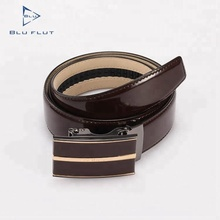 Factory Design Custom 125cm Belts Leather Men Automatic Brown