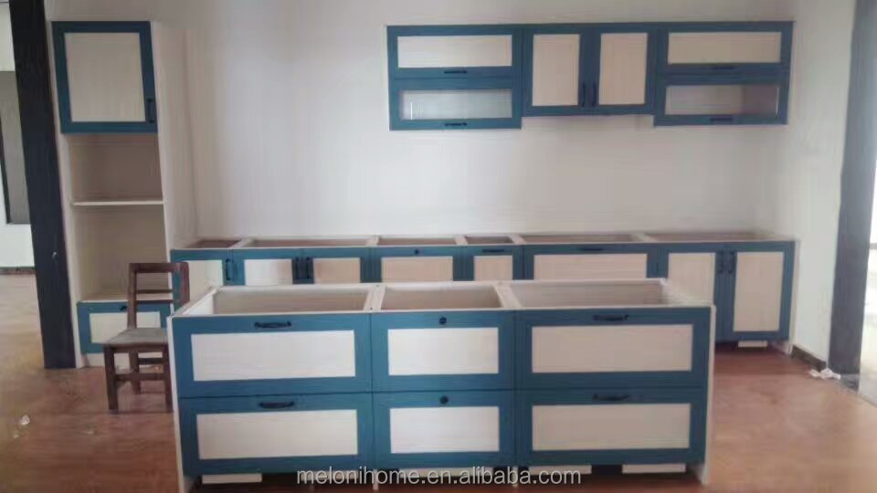 Guangzhou manufacture first choice aluminum kitchen cabinet design