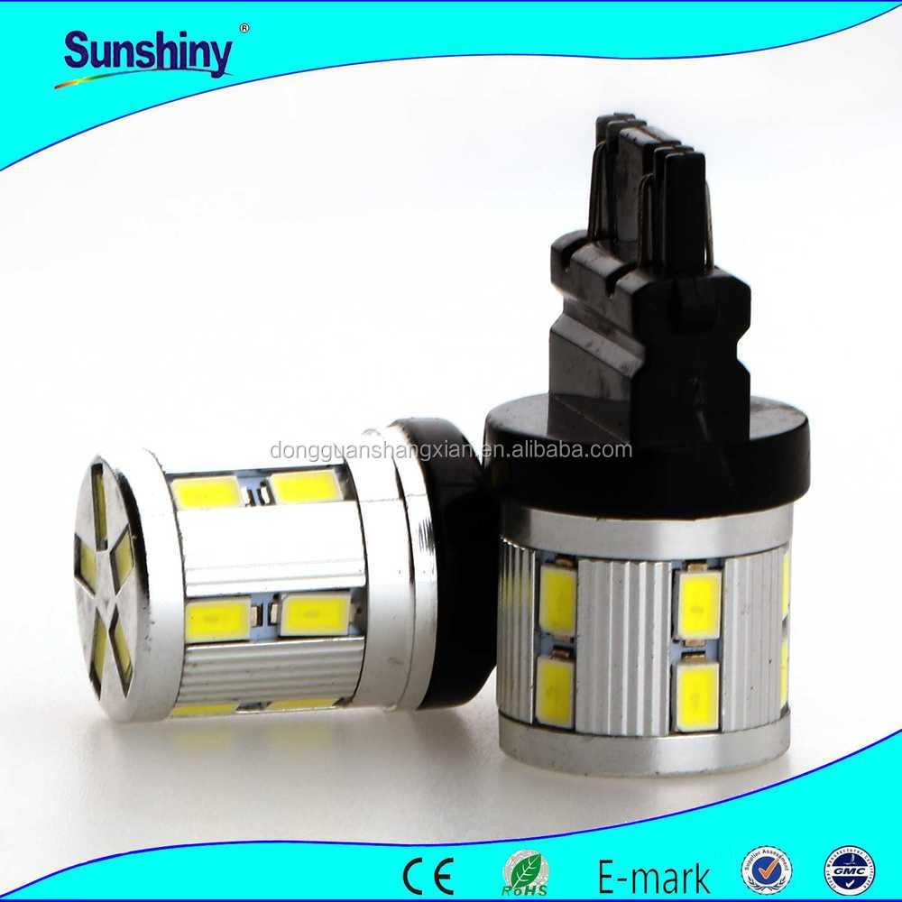 Super Bright led lighting auto tuning car led back lamp canbus 6W T20 SMD 5630 12LEDs fog lights