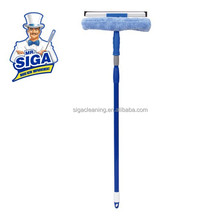 Mr. SIGA long handle glass cleaning squeegee Microfiber Window Wiper