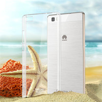 Hot selling imak crystal transparent cover case for Huawei P8 lite
