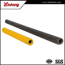 ground support reinforced t and r thread hollow anchor bolt in China