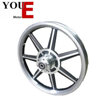 YOUE 14 inch aluminum alloy coloured intergrated bicycle wheels for sale