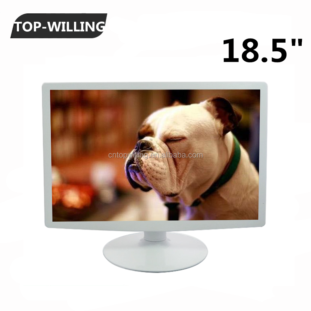 Widescreen Pc Monitor 18.5 Inch Lcd Monitor 16:9 With Vga Input