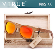 Best bamboo wood sunglasses wholesale ,carbonize bamboo frame polarized mirror lens eyewear