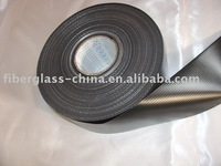 Fiberglass fabric coated PVC with properties of proof against water, fire and mildew