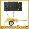 OPTRAFFIC Wholesale Remote Control Traffic Light Sign Board Directional Led Arrow Sign Board Trailer