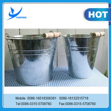 water bucket capacity/small stainless steel bucket