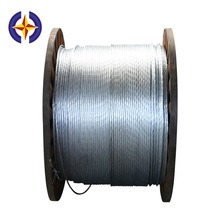 0.9mm Galvanized Low Carbon Steel Wire For Armouring Cables