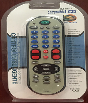 NEWEST RM-9511 UNIVERSAL TV REMOTE CONTROL,FOR ALL BRANDS TV,PUSH TO WORK,NEWEST