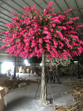 making artificial flower plant sale decoration bougainvillea tree weeding tree for wedding decoration