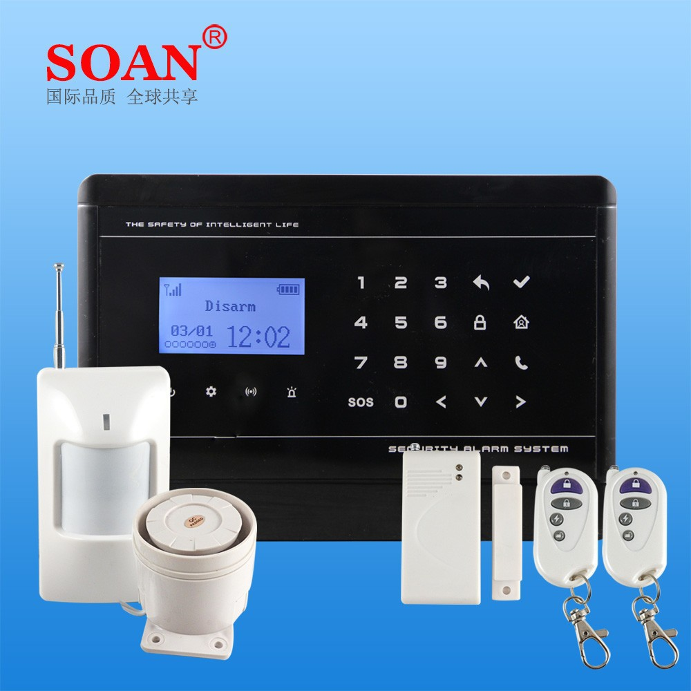 Smartphone APP Control SMS GSM Alarm System, One Button Auto Dialer for Medical Alert System and Panic Alarm