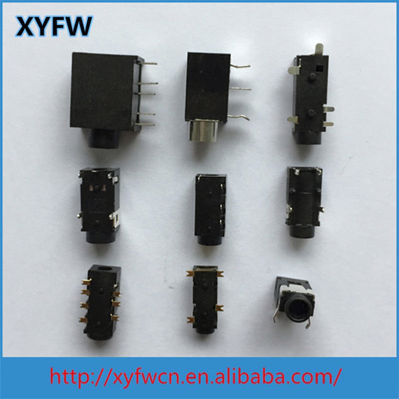 XYFW Cell 5Mm Stereo Phone Connector Jack