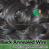 Hot sale Factory Soft 9 12 14 16 gauge Black Annealed Tie Wire in coil