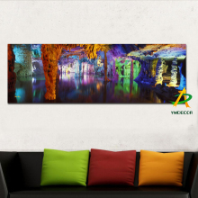 Digital Canvas Prints Carst Cave Landscape Print Painting Beautiful scenery Wall Art Home Decor Painting