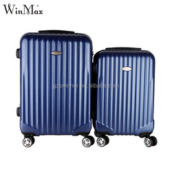 Factory price ABS PC travel luggage in luggage bags cases