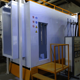 Excellent performance electro static powder coating booth