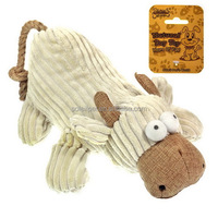 Alibaba Hot Sale Plush Cattle Shape Toy Dog