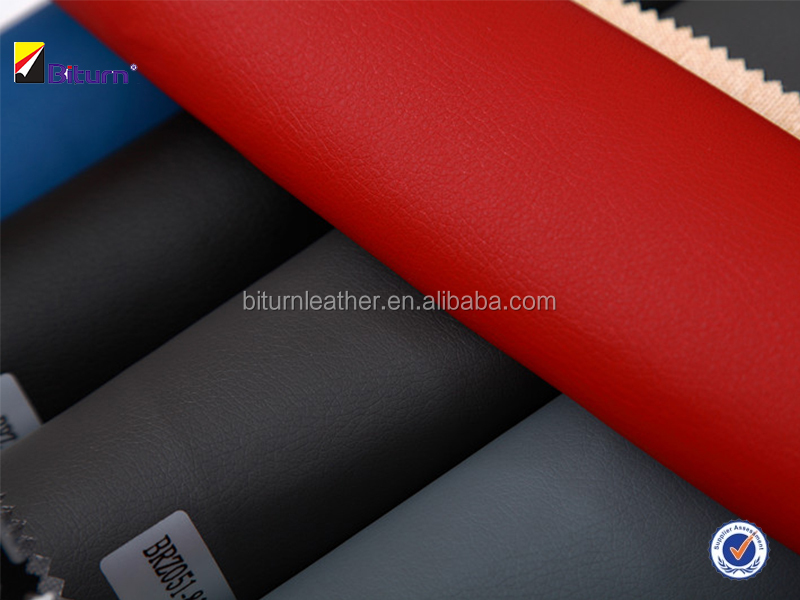 Car seat fabric in pu synthetic leather