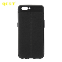 Guangzhou Mobile Phone Case New Fashion High Quality Litchi Pattern TPU Case Smartphone Case For OPPO R11
