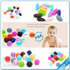 2015 Food Grade Silicone Chew Beads For Teether