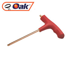 high quality T handle safe china aluminium bronze Torx key