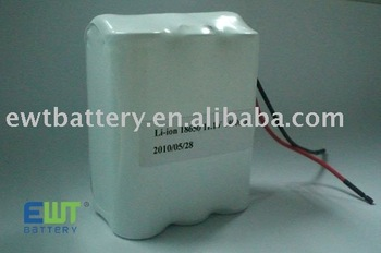 Li-ion battery pack ICR18650 11.1V 4400mAh