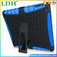 1000pcs/lot Free DHL Hot Heavy Duty Rugged Kickstand Tablet Cover For iPad Air 2 Case With Skin Cover For ipad Air 2 Case Bags