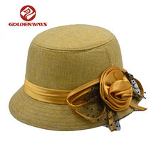 women lace funny plain bucket hat wholesale