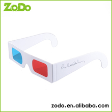 2015 designer fashion cheaters 1080p 3d video glasses for cardboard frame