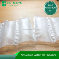 Shanghai manufacturer Logo printing customizedair bubble packing material