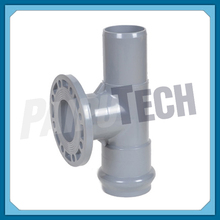 Plastic UPVC Socket Spigot and Flanged Tee for Water