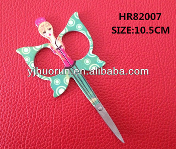 stainless steel beautiful HR82007 cuticle scissors