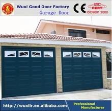 Factory Direct Selling Residential Automatic Sectional Garage Door Gate with PU Foam Panel