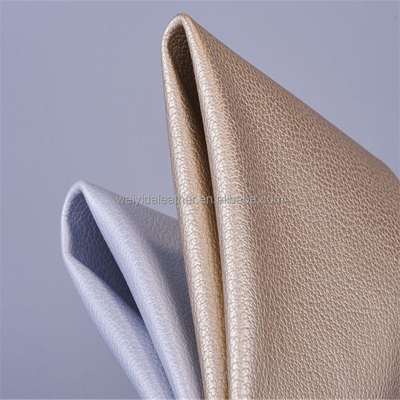 Embossing PU leather deerskin leather for man bags/sofa cover