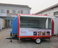 coffee cart trailers/food trailer/street vending carts