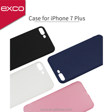 EXCO high flexibility camera protected light matte tpu soft smartphone cover for iphone 7