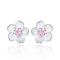 ATHENAA 925 Sterling Silver Earrings Girl