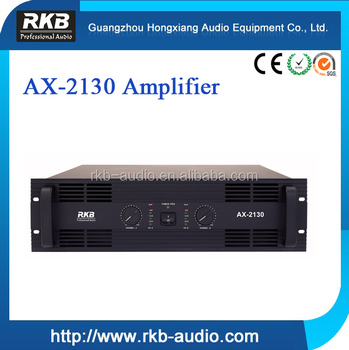 AX-2130 professional audio power amplifier, power amplifier for concerts