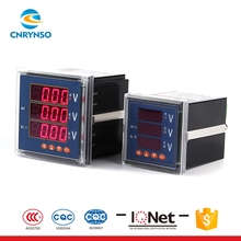Factory sales RS485 communication LED display voltmeter