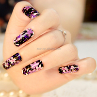 Made in China newest design fashion finger cheap flash nails supplies