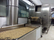 auto matic fired peanut machine /roasted and salted peanut machinary