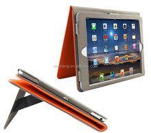 Hot Selling Tablet Case Ultra Slim Case for iPad Air iPad mini Book Cover with Card Slots and Handstrap