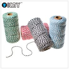 Free Samples 12 ply dia 2 MM Coloured Cotton Twine